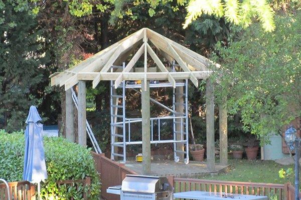 Bespoke built garden building